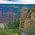 Point Imperial At 8803 Feet On North Rim Of Grand Canyon National Park-arizona   by Ruth Hager
