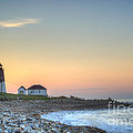 Point Judith Lighthouse by Juli Scalzi