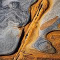 Point Lobos Abstract 4 by Mike Penney