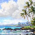 Poipu Beach #1 by Jenifer Prince
