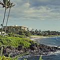 Polo Beach Wailea Point Maui Hawaii by Sharon Mau