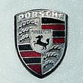Porsche Emblem  by George Pedro