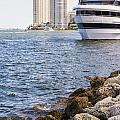 Port Of Miami by Andre Babiak