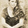 Portrait Of A Vintage Lady by Jorgo Photography - Wall Art Gallery