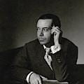 Portrait Of Cole Porter by Horst P. Horst
