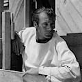 Portrait Of Gary Cooper by George Hoyningen-Huene