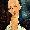 Portrait Of Lunia Czechowska by Celestial Images