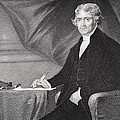 Portrait Of Thomas Jefferson by Alonzo Chappel