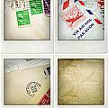 Postal Still Life by Les Cunliffe