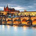 Prague Castle. by Milan Gonda