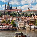 Prague Castle by Shirley Radabaugh