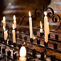 Prayer Candles by Frank Gaertner