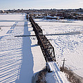Prince Of Wales Railway Bridge, Ottawa by Rob Huntley