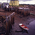 Private Jetty Northern Maine by Hal Norman K