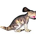Protoceratops Dinosaur by Friedrich Saurer