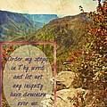 Psalm 119 133 by Michelle Greene Wheeler