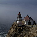 Pt Reyes Lighthouse by Bill Gallagher