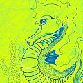 Q-t The Purdiest Seahorse by Nicole DePreker
