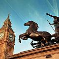 Queen Bodica Statue In London by Songquan Deng
