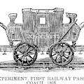 Railroad Passenger Car by Granger