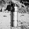 Rain Gauge At Valley Of Fire State Park Nevada Usa by Joe Fox