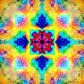 Rainbow Light Mandala by Susan Bloom