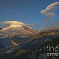 Rainier Capped by Mike  Dawson