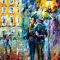 Rainy Date by Leonid Afremov