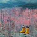 Rainy Day Galoshes by Guenevere Schwien