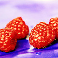 Raspberries by Lali Kacharava