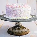 Raspberry White Chocolate Cake by Edward Fielding