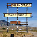Rawlins Wyoming - Grandma's Cafe by Frank Romeo