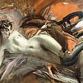 Reclining Nude by Giovanni Boldini