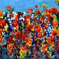 Red And Blue by Regina Valluzzi