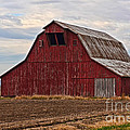 Red Barn by Debbie Portwood
