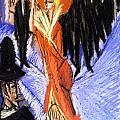 Red Cocotte by Ernst Ludwig Kirchner