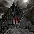 Red Death Tower by James Christopher Hill