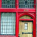 Red Door by Art Dingo