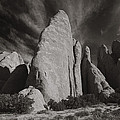 Red Rock Sentinels  by Wendell Thompson
