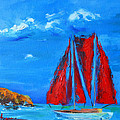 Red Sails by Patricia Awapara