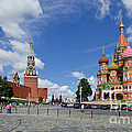 Red Square by Pravine Chester