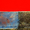 Red Wall by Newel Hunter