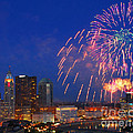 Red White And Boom Photo by Ohio Stock Photography