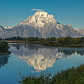 Reflections Of Mount Moran by Brenda Jacobs