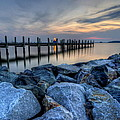 Rehoboth Bay Sunset by David Dufresne
