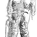 Remington Cowboy, 1887 by Granger