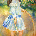 Renoir's Girl With A Hoop by Cora Wandel