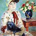 Renoir's Mlle Charlotte Berthier by Cora Wandel