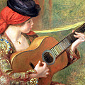 Renoir's Young Spanish Woman With A Guitar by Cora Wandel