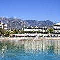 Resort City Of Marbella In Spain by Artur Bogacki